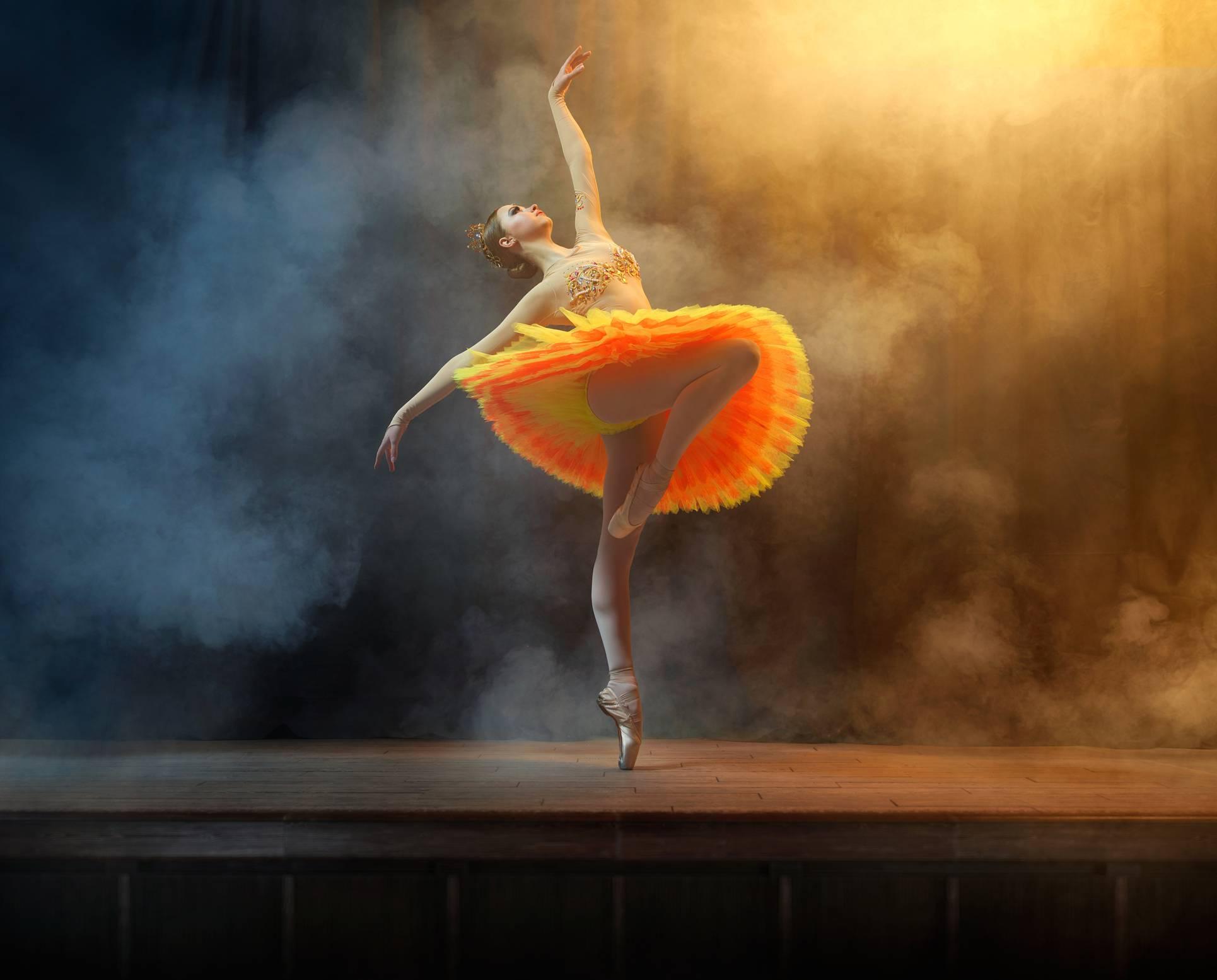 como ser uma dançarina profissional