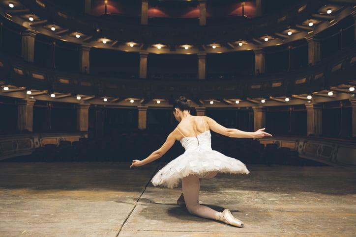 mulheres na dança